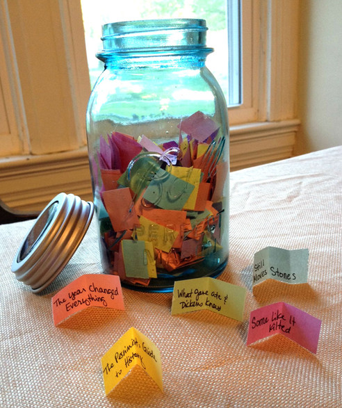 Create a Mason Jar Library in 4 Steps