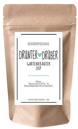 35g DRUNTER + DRÜBER Gartenkräuter DIP