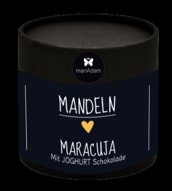 110g Dose Mandeln Himbeer Joghurtschokolade