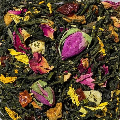 Grüner Tee Pfirsich Vanille