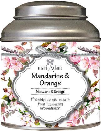 mariAdam Mandarine Orange Früchtetee säurearm