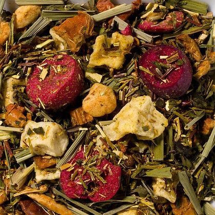 Grüner Rooibostee Cranberry & Mandarine