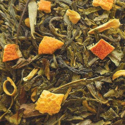 Grüner Tee Orangenblüte