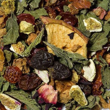 Früchtetee Granatapfel Minze säurearm