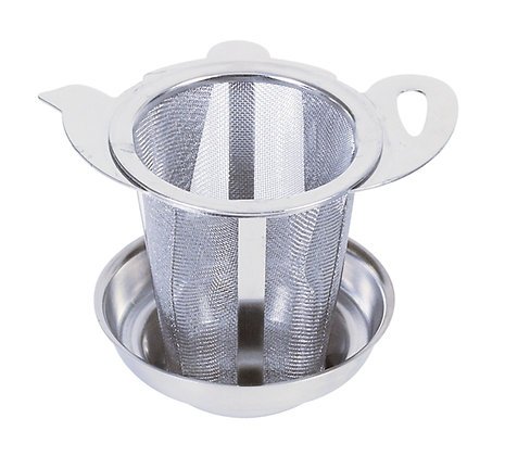 Edelstahlfilter Teekanne
