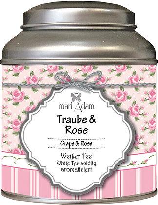 mariAdam Traube Rose Weißer Tee
