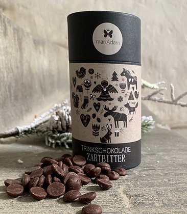 200g Dose Belgische Zartbitter Trinkschokolade