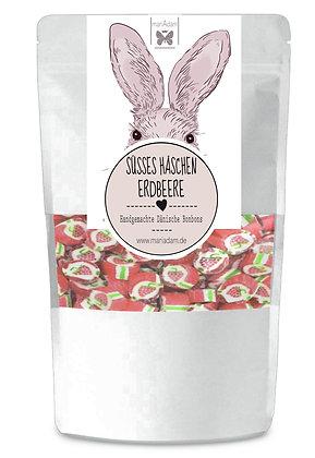 130g Handgemachte dänische Bonbons Erdbeere