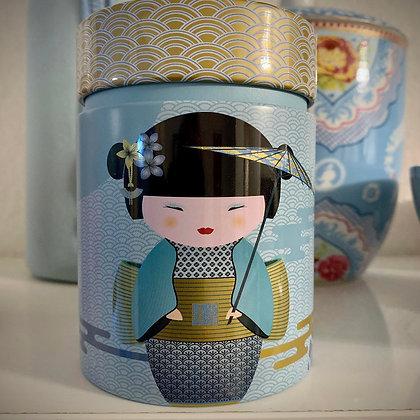150g Teedose Geisha Blau