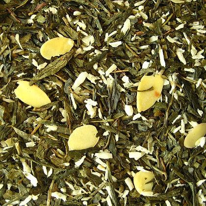 Grüner Tee Mandelplätzchen