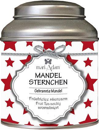 mariAdam MANDELSTERNCHEN Gebrannte Mandeln Früchtetee säurearm