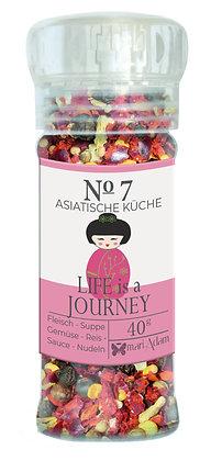 40g Gewürzmühle NO7 LIFE is a JOURNEY -Asiatische Küche- 40g