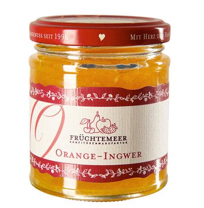 210g Handgemachter Fruchtaufstrich Orange Ingwer