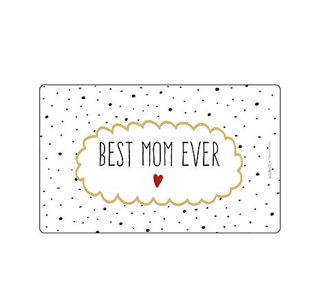 Best Mom Brettchen / Frühstücksbrettchen