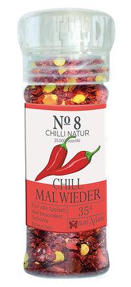 35g Gewürzmühle NO8 CHILL MAL WIEDER -Chili Natur- 35g