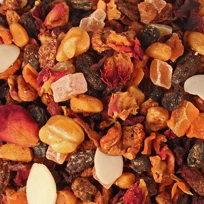 Früchtetee Pflaume Marzipan säurearm