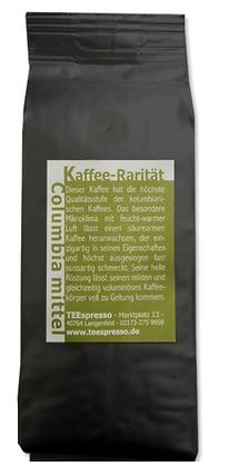 Columbia Kaffeerarität mittelkräftig