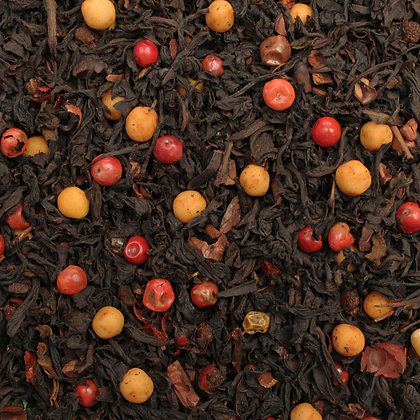 Schwarzer Tee Chili Trüffel