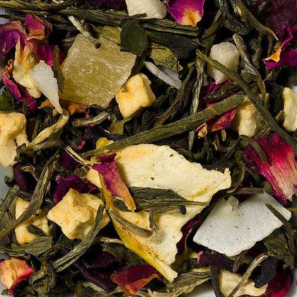 Weißer Tee Traube Rose