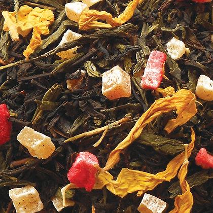 Schwarzer Tee Mittsommernacht