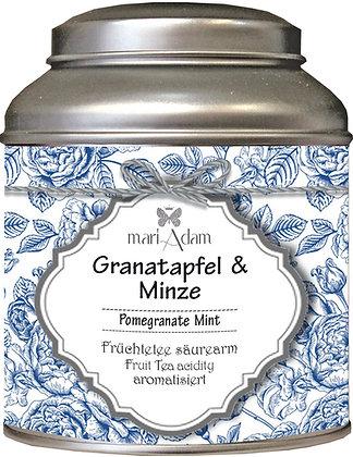 mariAdam Granatapfel Minze Früchtetee säurearm
