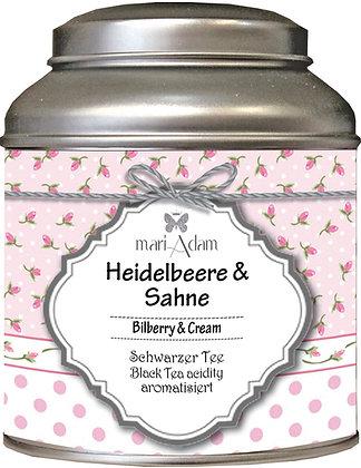 mariAdam Heidelbeere Sahne Schwarzer Tee