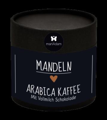 110g Dose Mandeln Arabica Kaffee Vollmilch