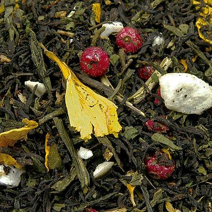 Schwarzer Tee Fit und Schlank