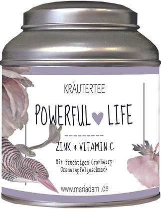 mariAdam POWERFUL LIFE Kräutertee 90g Dose