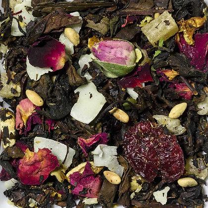 Schwarzer Oolong Tee Granatapfel Vanille Zimt