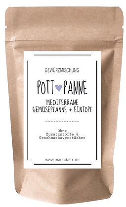 50g POTT + PANNE Mediterrane Gewürzmischung