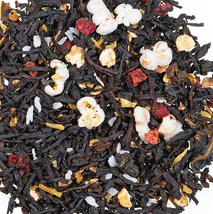 Schwarzer Tee Cranberry Milchreis