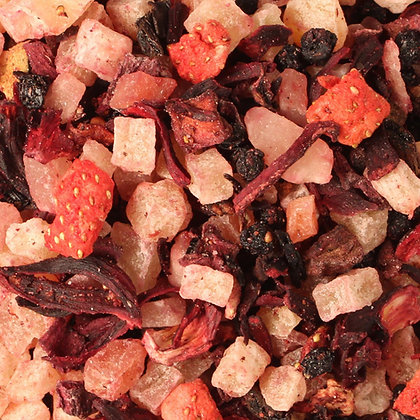 Früchtetee Exotische Erdbeere säurearm