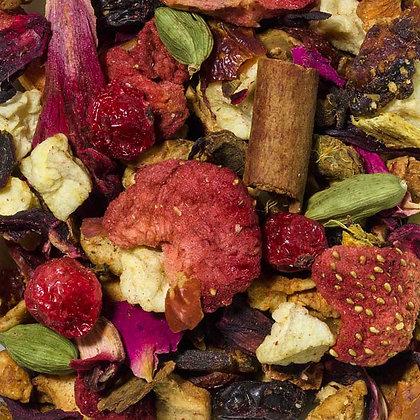 Früchtetee Beeren Mandel Zimt Triffle säurearm