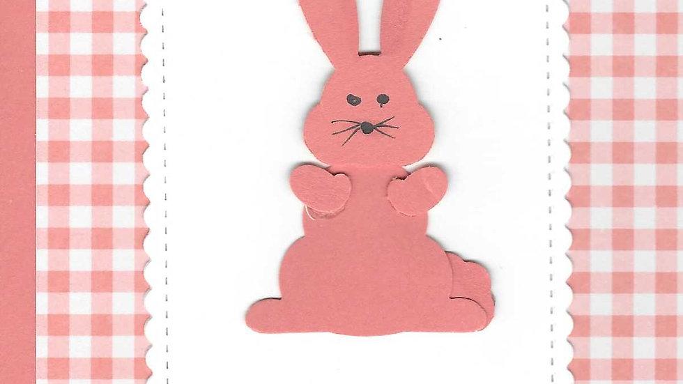 Orange Bunny Card