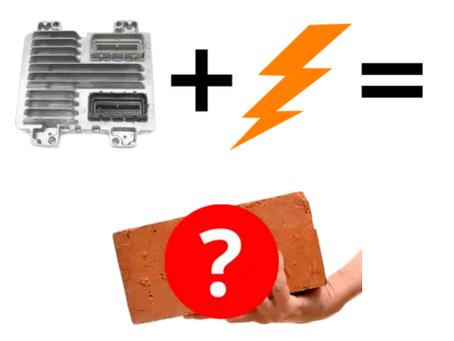 Bricked ECUs