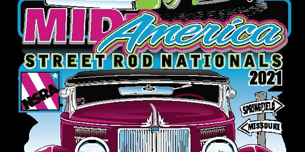 NSRA Mid America Street Rod Nationals - Springfield, MO