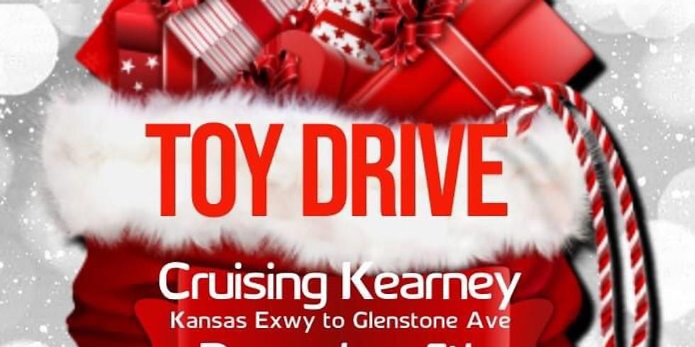 🎄 Santa's Helpers Toy Drive Cruise on Kearney!