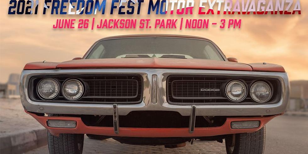 Freedom Fest Motor Extravaganza Car Show