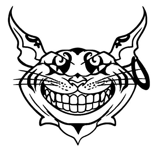 Dark Cheshire Cat Grin - American McGee Cheshire