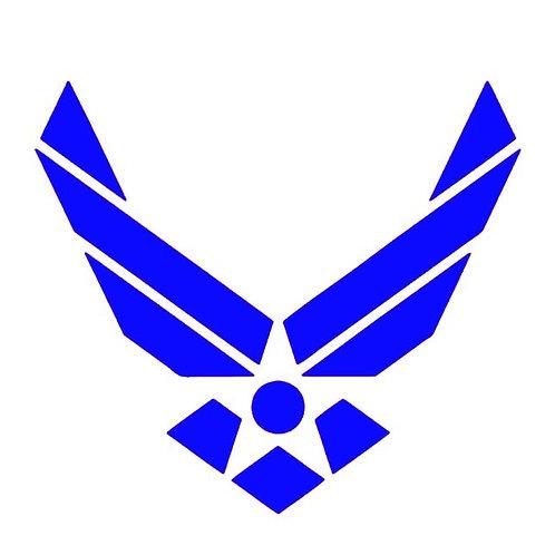 Air Force Emblem - USAF vinyl Decal