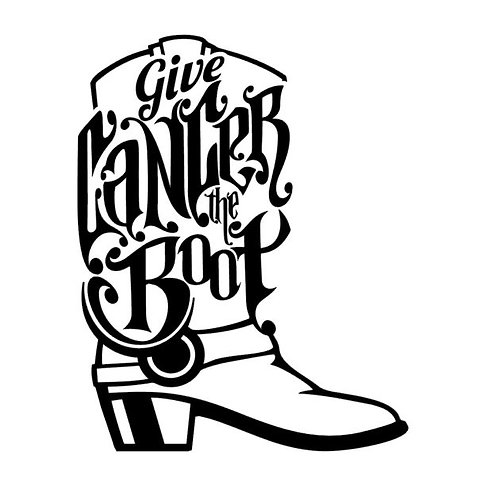 Give Cancer the Boot Awareness Vinyl Decal - Breast Cancer Awareness
