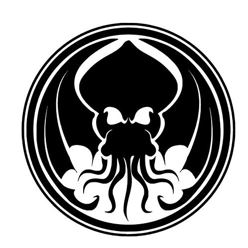 Winged Cthulu Vinyl Decal - Old One Stickers - HP Lovecraft Decals