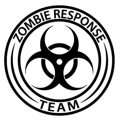 Zombie Outbreak Response Team Biohazard - Walking Dead - Resident Evil - iZombie