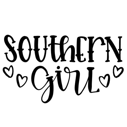 Southern Girl Vinyl Decal - Sweet Country Girl Sticker - Redneck Ladies