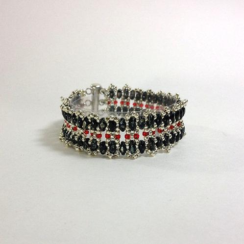 Le Caberet Garter Style Handmade Bracelet