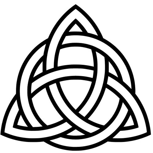 Celtic Lovers Knot Vinyl Decal