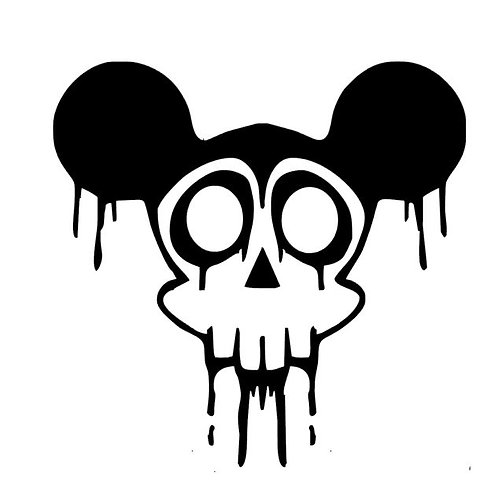 Dead Mouse - Zombie Mickey Mouse Vinyl Decal - Horror Mouse