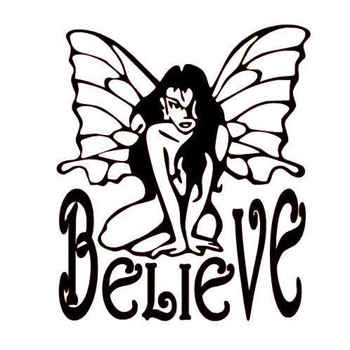 Believe in Yourself motivational vinyl decal