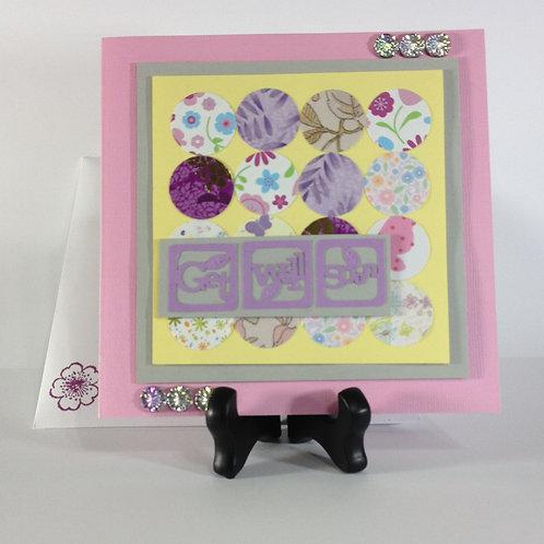 Baby / Child / Maternity Handmade Get Well Card